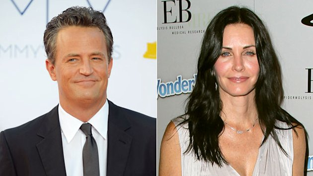 'Friends' Reunion: Courteney & Matthew on 'Go On'