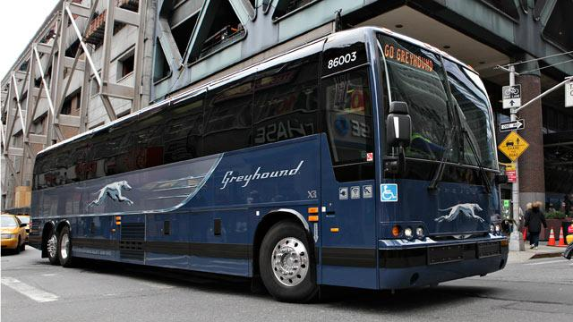 Greyhound Left the Driving to the Passengers