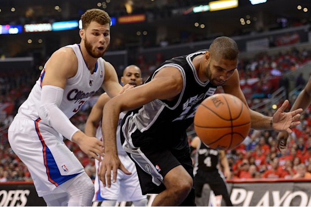San Antonio Spurs v Los Angeles …