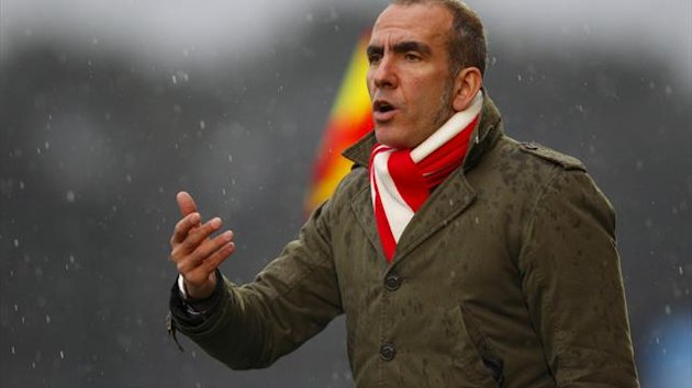 Paolo Di Canio claimed his position as Swindon manager had become 'untenable'