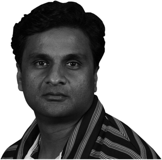 Javagal Srinath cricket Columnist Mugshot cutout