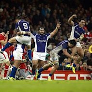 Samoa claimed an historic victory over Wales at the Millennium Stadium