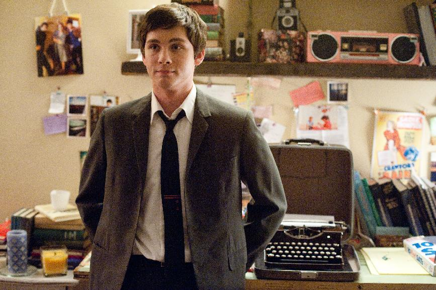 "This image released by Summit Entertainment shows Logan Lerman in a scene from ""The Perks of Being a Wallflower."" (AP Photo/Summit Entertainment, John Bramley)"