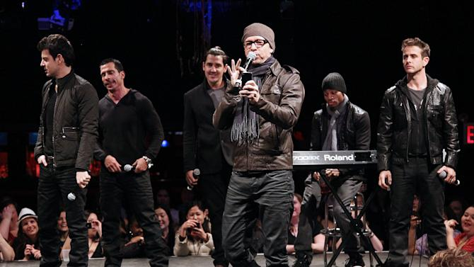 Walhberg: Boy band union is strong for summer tour