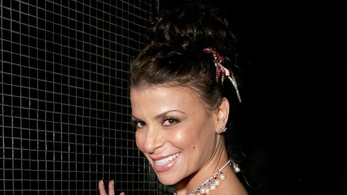 Paula Abdul at the TV Guide Emmy After Party.