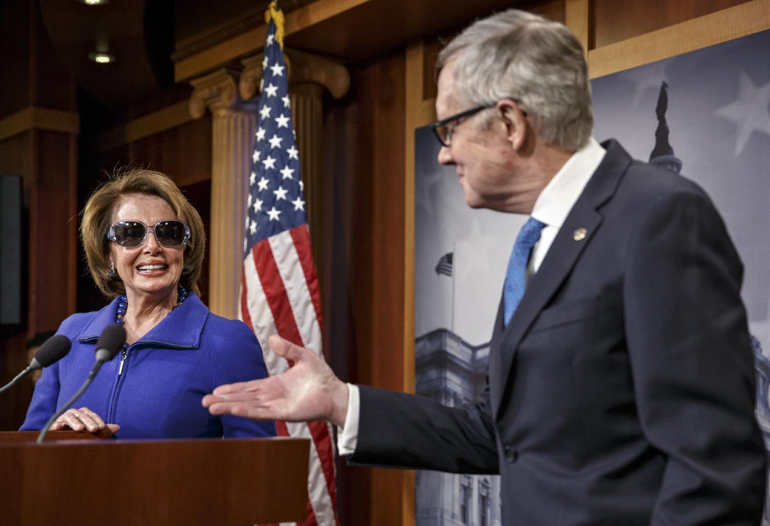 Capitol Hill Buzz: Pelosi teases Reid with dark glasses