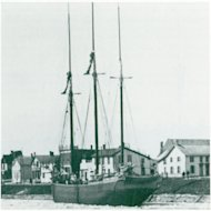 In this undated photo provided by ShipwreckWorld.com, a mid 1800's Canadian schooner, Queen of the Lakes is shown. Undersea explorers have discovered the 19th-century, three-masted Canadian schooner that sank with a cargo of coal in Lake Ontario in 1906. The 53-year-old Queen of the Lakes had run into a stiff gale and sprung a hull leak off Sodus Bay on the lake's southern shore. The crew of six abandoned the vessel and rowed to safety. Jim Kennard said Friday, July 15, 2011, that he and fellow shipwreck enthusiasts Dan Scoville and Roland Stevens located the ship using side-scan sonar in 2009 in waters too deep for divers to reach. They confirmed the find and captured images of it this month using a remote-operated vehicle. (AP Photo/ShipwreckWorld.com)