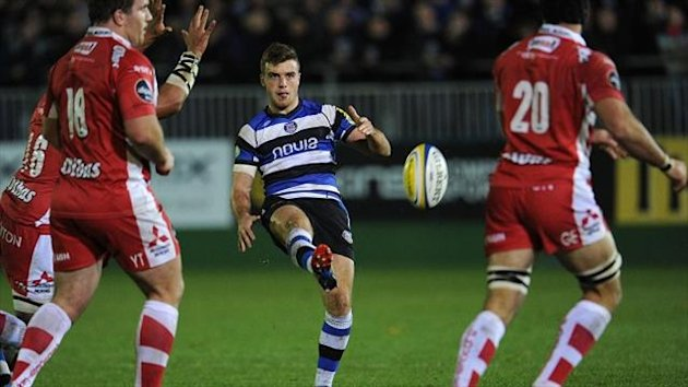 George Ford kicked all Bath's points