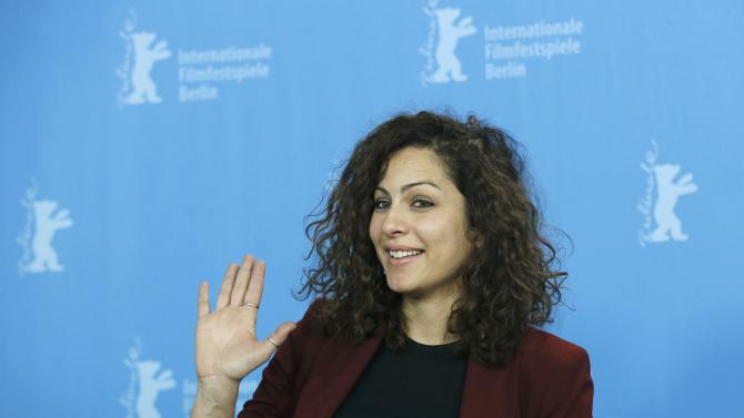 Actress Ben Messaoud  poses during a photocall at 66th Berlinale International Film Festival in Berlin