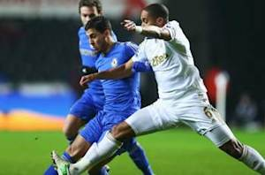 Swansea 0-0 Chelsea (Agg 2-0): Stalemate sends Swans to Wembley as disgraced Hazard sees red