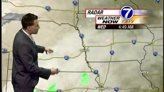 Matt has the latest on the winter storm
