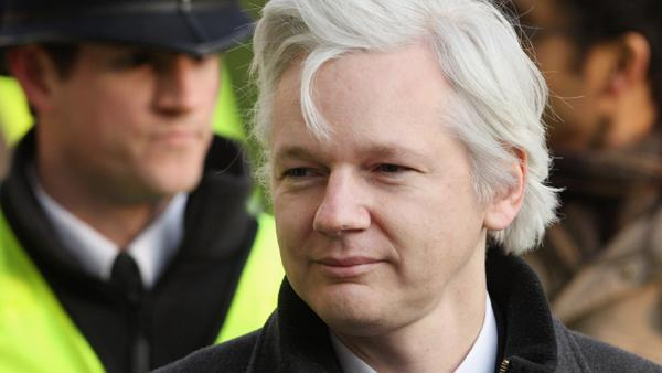 Assange: I'll Stay in Embassy Until U.S. Backs Off