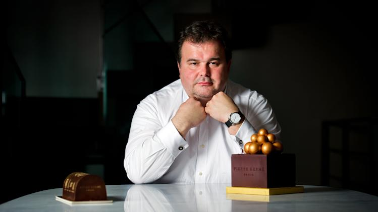 French pastry chef Pierre Herme