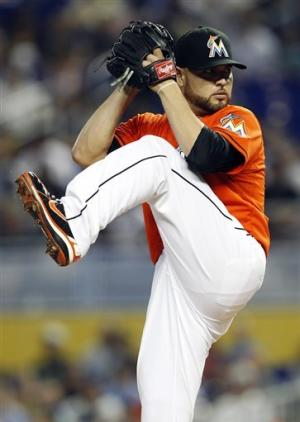 Cabrera's 4 hits help Giants beat Marlins 3-2