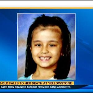 8-year-old falls to her death at Yellowstone
