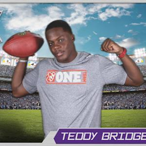 Virtual Rookie Card: Teddy Bridgewater