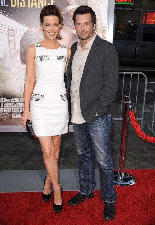 Going the Distance LA Premiere 2010 Len Wiseman Kate Beckinsale