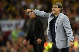 Barcelona's first-half struggles frustrate Martino