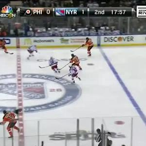 Flyers at Rangers / Game Highlights