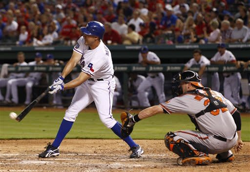 Dempster leads Texas in 5-1 win over Orioles