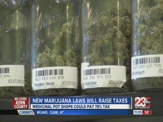 New marijuana laws will raise taxes