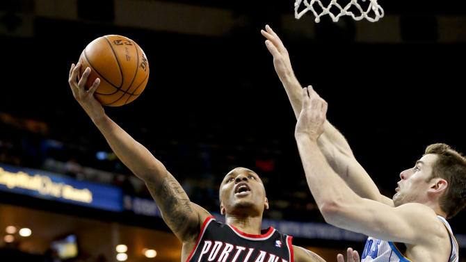 NBA: Portland Trailblazers at New Orleans Hornets
