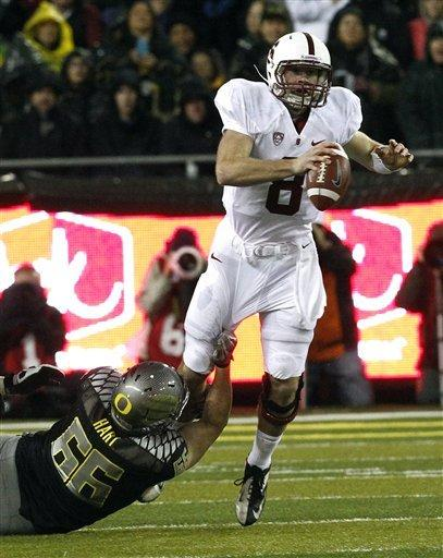 No. 14 Stanford upsets No. 1 Oregon 17-14 in OT