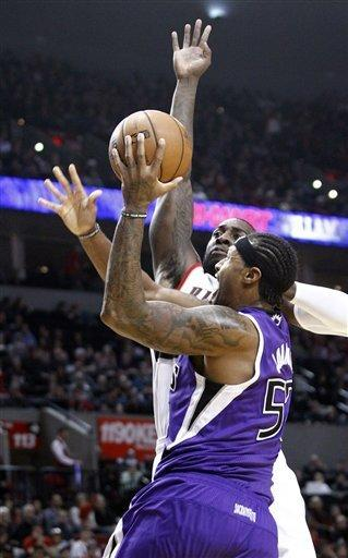 Trail Blazers run away from Kings, 109-91