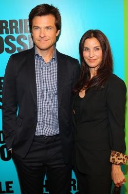 "Jason Bateman and Amanda Anka arrive at the Australian premiere of ""Horrible Bosses,"" Melbourne, Australia, August 14, 2011 -- Getty Images"