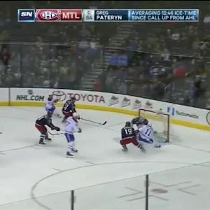 Curtis McElhinney Save on Brendan Gallagher (11:10/2nd)