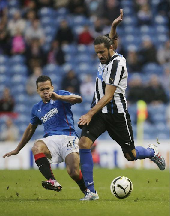 Soccer - Pre Season Friendly - Rangers v Newcastle United - Ibrox Stadium
