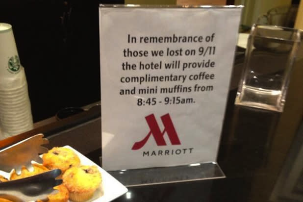 AT&T, Marriott Issue Apologies for Tacky 9/11 Tributes (Photos)
