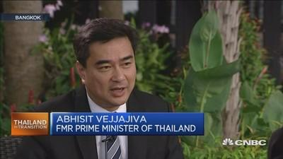 Thai military has limited time: Former PM