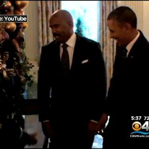 S.Fla. Kids In D.C. Get Surprise Visit From The President