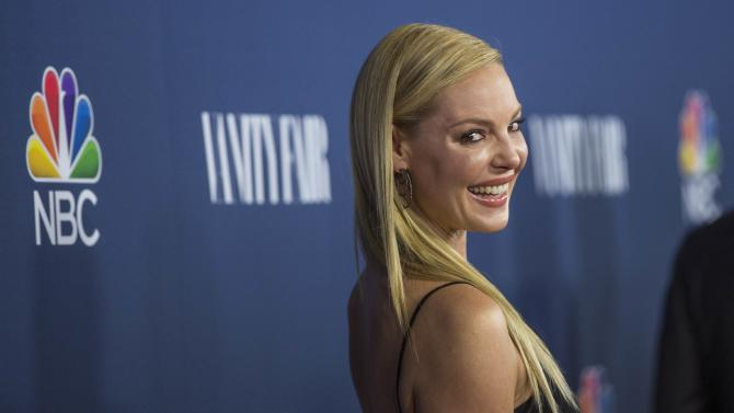 "Actress Heigl from the television series ""State of Affairs"" poses at NBC and Vanity Fair's 2014-2015 television season event in Los Angeles"