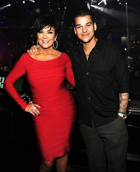 Kris Jenner Shares Topless Pregnancy Photo
