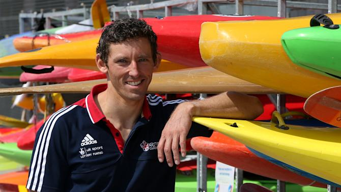 Great Britain's C1 and C2 class Olympic team member David Florence poses for a photograph