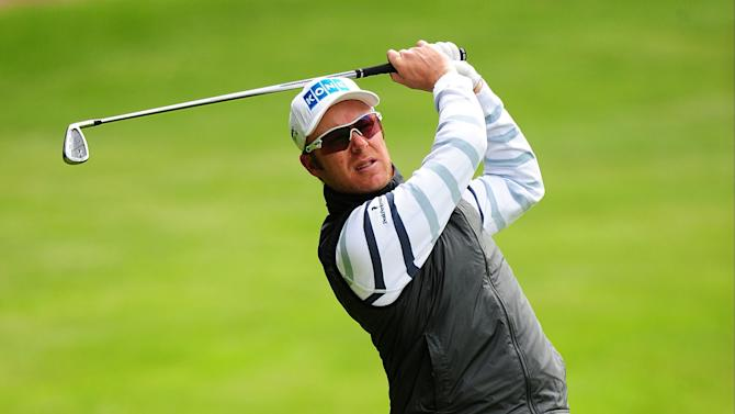 Finland's Mikko Ilonen during the first day of the BMW PGA Championship at the Wentworth Club, Virginia Water, England, Thursday, May 23, 2013. (AP Photo / Adam Davy, PA )  UNITED KINGDOM OUT  PHOTOGRAPH
