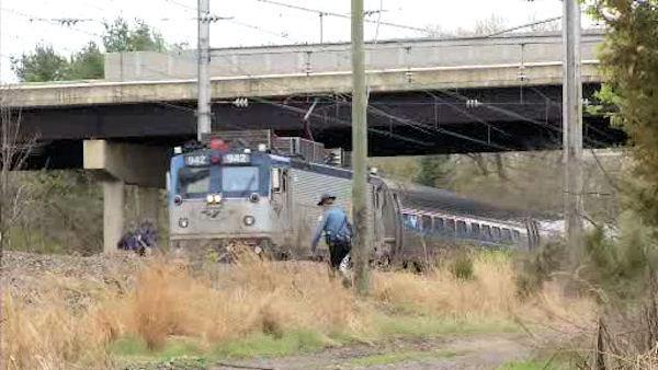 Pedestrian struck and killed by train near Delaware Park Racetrack