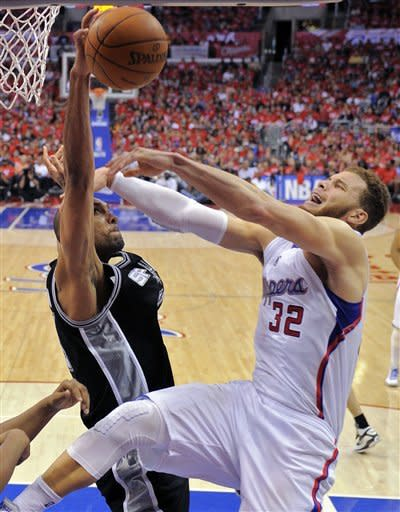 Spurs beat Clippers 96-86 to take 3-0 series lead