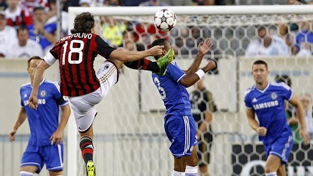 Riccardo Montolivo in action against Chelsea (Reuters)