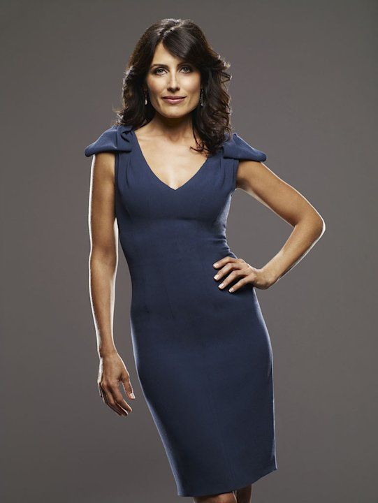 "Lisa Edelstein stars as Dr. Lisa Cuddy in ""House."""