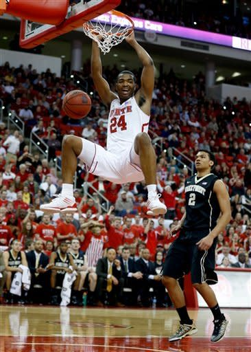 NC State rolls past Wake Forest 81-66
