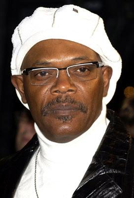Samuel L. Jackson at the Hollywood premiere of Paramount Pictures' Coach Carter