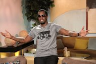 Sean &#39;Diddy&#39; Combs poses backstage on Access Hollywood Live on September 27, 2012 -- Access Hollywood