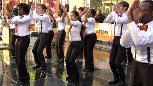 Princeton Step Team Shows Off Their Moves
