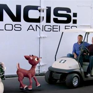 Happy Holidays from Rudolph, NCIS: Los Angeles & CBS