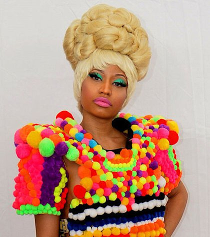 Nicki Minaj brings her over-the-top style to &quot;American Idol.&quot;
