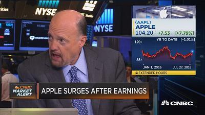 Apple analysts 'snookered' themselves, Cramer says
