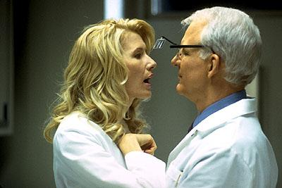 Laura Dern and Steve Martin in Artisan's Novocaine